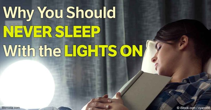 Exposure to dim light during sleep, even if it does not noticeably impair your sleep, may affect your brain function and cognition during the day.