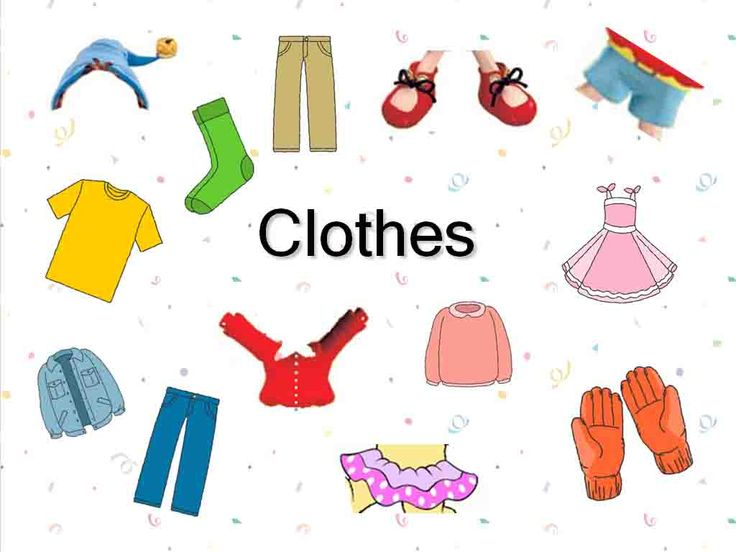 clothes clipart images - photo #34