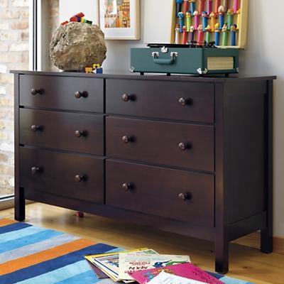 Kidsu0027 Dressers: Kids Espresso Simple Dresser  For Rowen