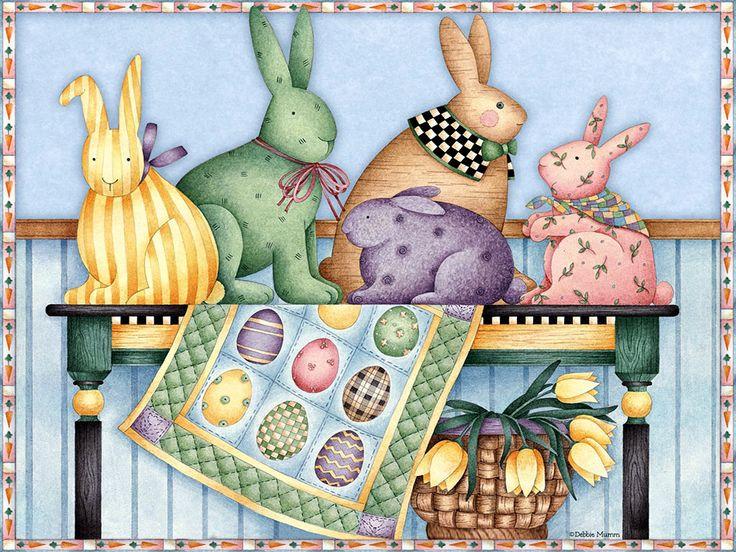 Art of Debbie MummEaster Clipart, Debbie Mumm, Easter Bunnies, Art Debbie, Debbie Mums, Decoupage Dekupaj, Desktop Wallpapers, Easter Time, Computers Wallpapers