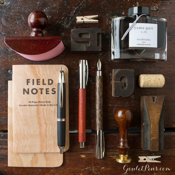 Goulet Pens Blog: Thursday Things: Knock on Wood