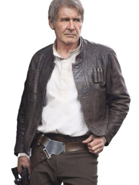 It was worn by Harrison Ford who played the character of Han Solo. SamishLeather has come up with an exact copy of this Star Wars Han Solo brown jacket.