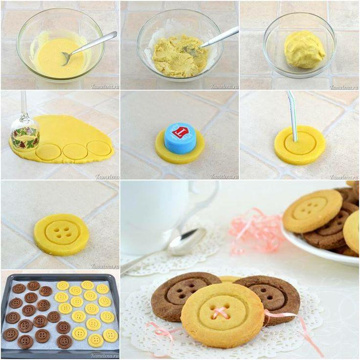 μπισκότα κουμπί - cookies button