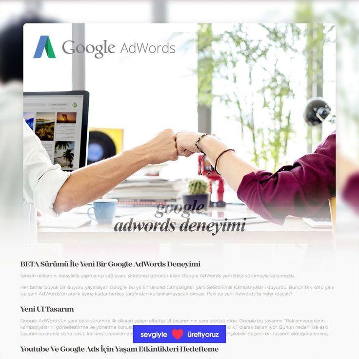 BETA Sürümü İle Yeni Bir Google AdWords Deneyimi -> İşinizin reklamını kolaylıkla yapmanızı sağlayan şirketinizi görünür kılan Google AdWords yeni Beta sürümüyle karşımızda.  Detaylı bilgi için http://ift.tt/2eHnxHb adresimizi ziyaret ediniz.  Web Ajans | Dijital Pazarlama ve Reklam Ajansı - http://ift.tt/2tR7OeA #webagency #webajans #webdesign #interactiondesign #seo #google #adwords #socialmedia #marketing #advertisement #digital #dijital #logo #branding #graphicdesign #motiongraphics…