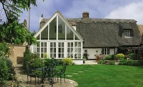 modern extensions to thatched cottage - Google Search