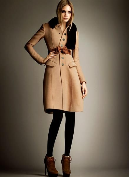 Модное женское пальто фото