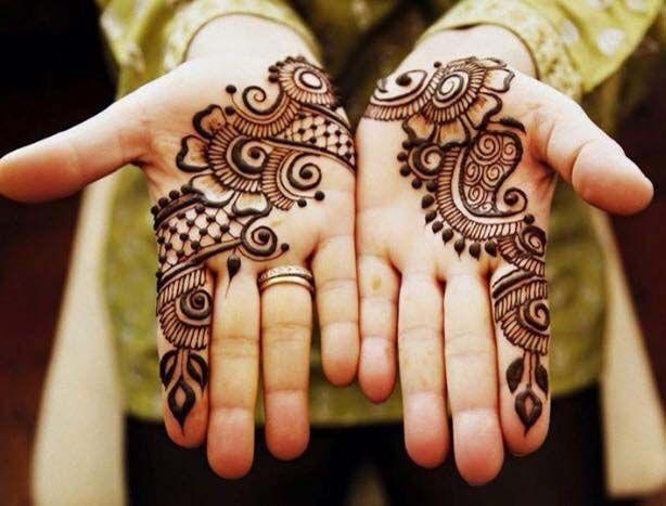 Mehndi Heart Meaning : Best henna mehndi design for eid images