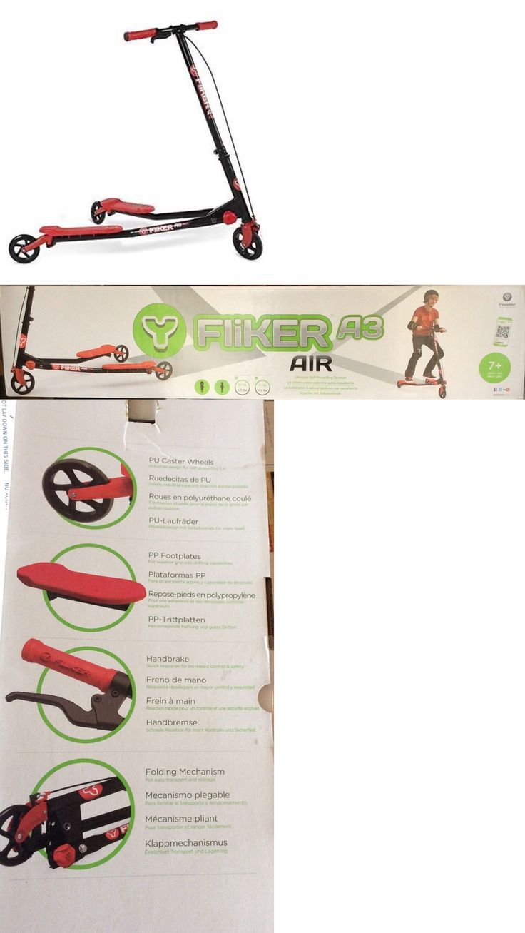 Y Fliker Scooter >> Best 25+ Kick scooter ideas on Pinterest   Electric scooter, Folding bicycle and Scooter store ...