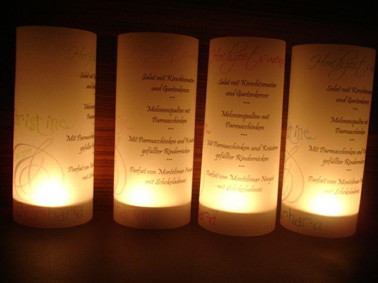 Menükarten mal anders,Hochzeit,Tischdeko, 10St. von HZH- alles für festliche Anlässe auf DaWanda.com