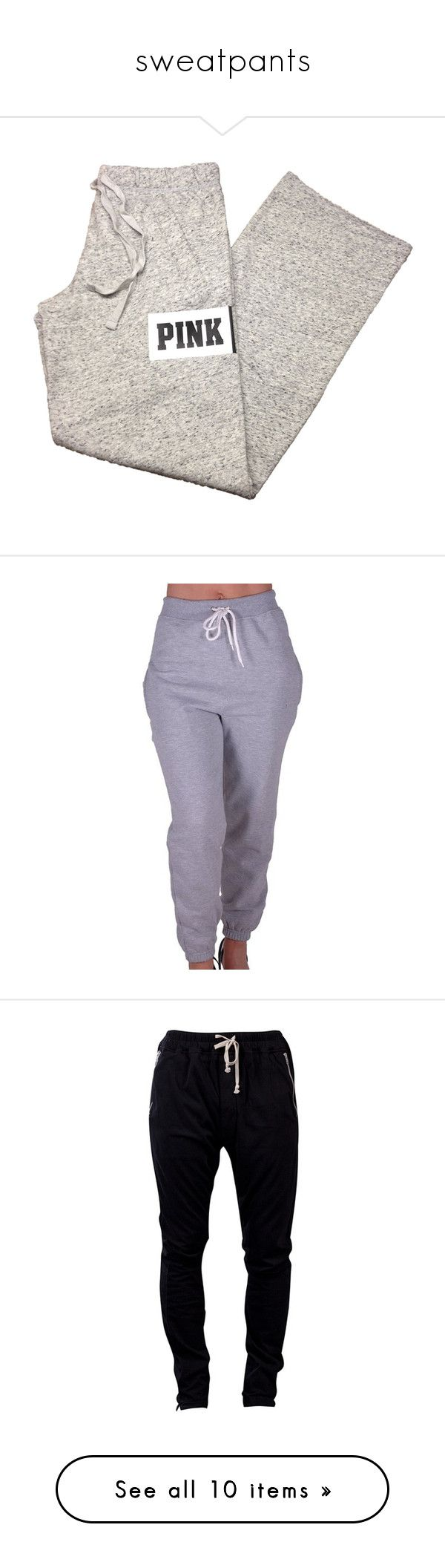 """sweatpants"" by ksmithh ❤ liked on Polyvore featuring men's fashion, men's clothing, men's activewear, men's activewear pants, pants, activewear, activewear pants, sweatpants, boyfriend sweatpants and sweat pants"