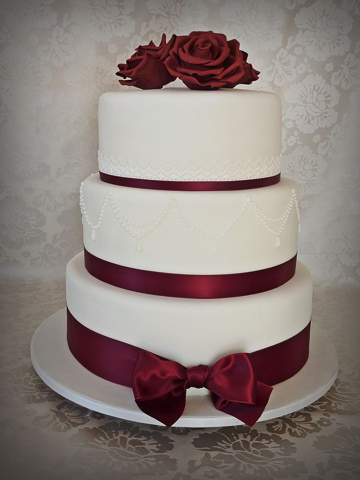 6 wedding cake 18 best maroon and white weddings images on 10501