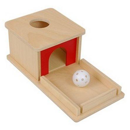 Object Permanence Box w/ Tray – I AM Montessori