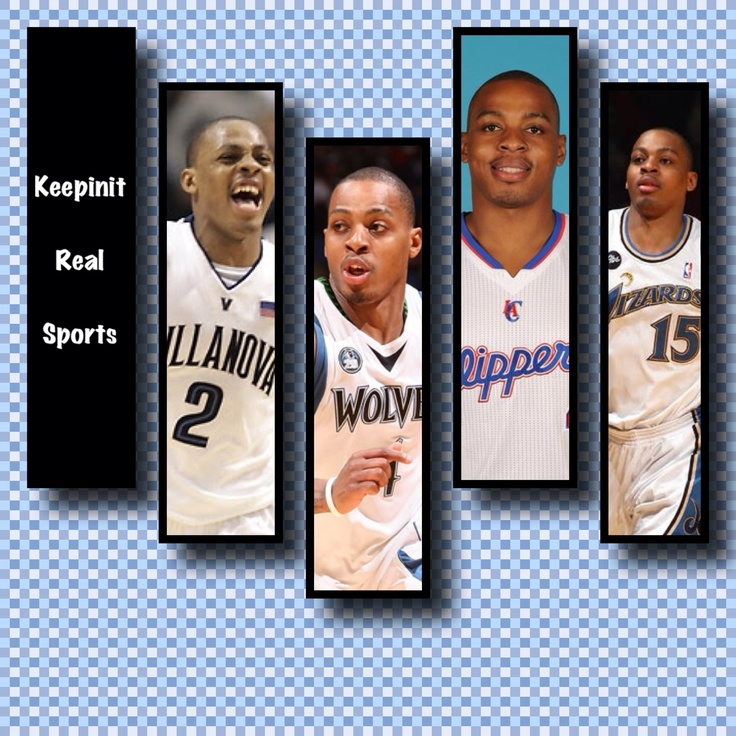 Happy Birthday: Randy Foye  September 24,1983 - Randy Foye is an American professional basketball player with the Utah Jazz. He played collegiately at Villanova University. He was selected seventh overall in the 2006 NBA Draft by the Boston Celtics, immediately traded to the Portland Trail Blazers, and later traded to the Minnesota Timberwolves. He joined Utah in 2012.