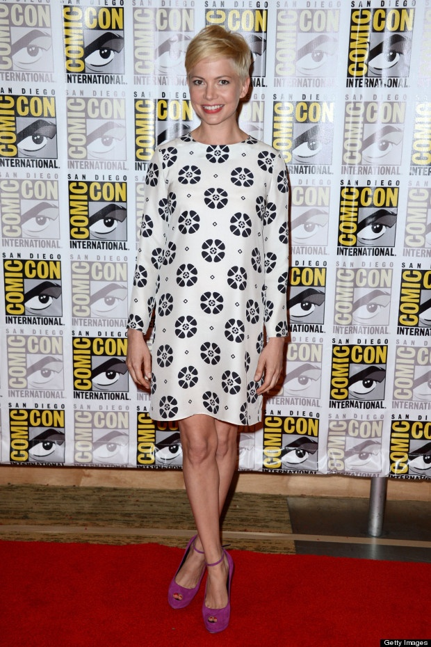 oh mw, stop being so very perfect.: Comic Con, Fashion, Style, Dress, Red Carpet, Comic Con, Michellewilliams, Michelle Williams