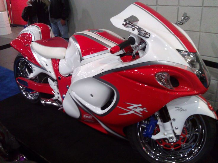 Suzuki Hayabusa Motorcycle.
