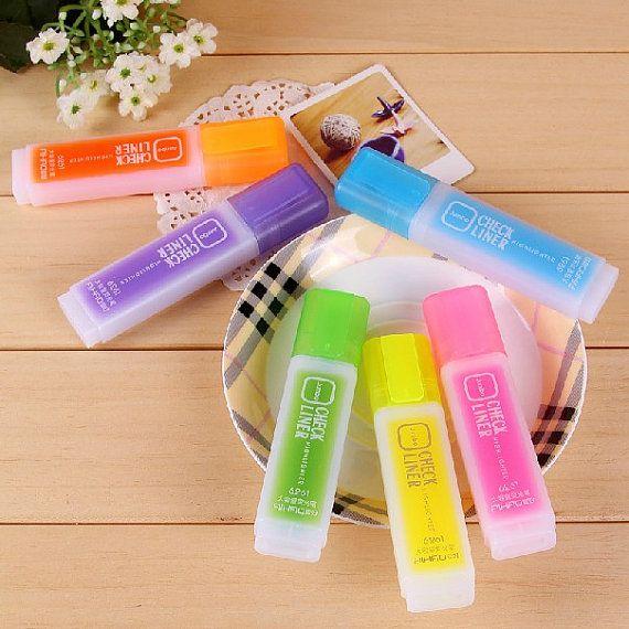 Set di 6 pezzi colore gel Penne segno penne penne roller di 2to2lm