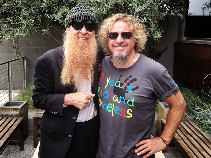 Billy Gibbons & Sammy Hagar.