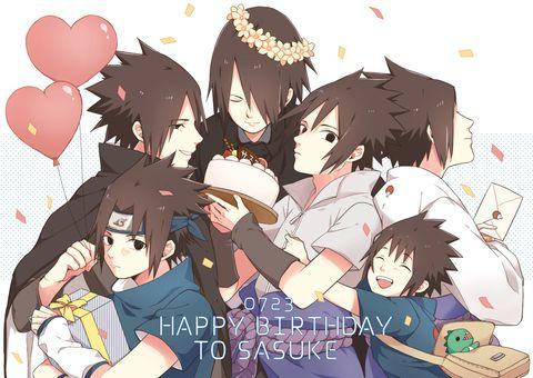 Happy Birthday Sasuke