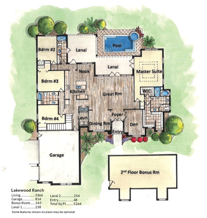 288 best dream house plans images on pinterest dream for Custom dream home floor plans