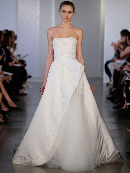 Vestidos de novia palabra de honor 2017: ¡El diseño más deseado! Image: 21