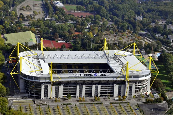 Signal Iduna Park Westfalenstadion Cauldron Yellow and Black - Home of Borussia Dortmund