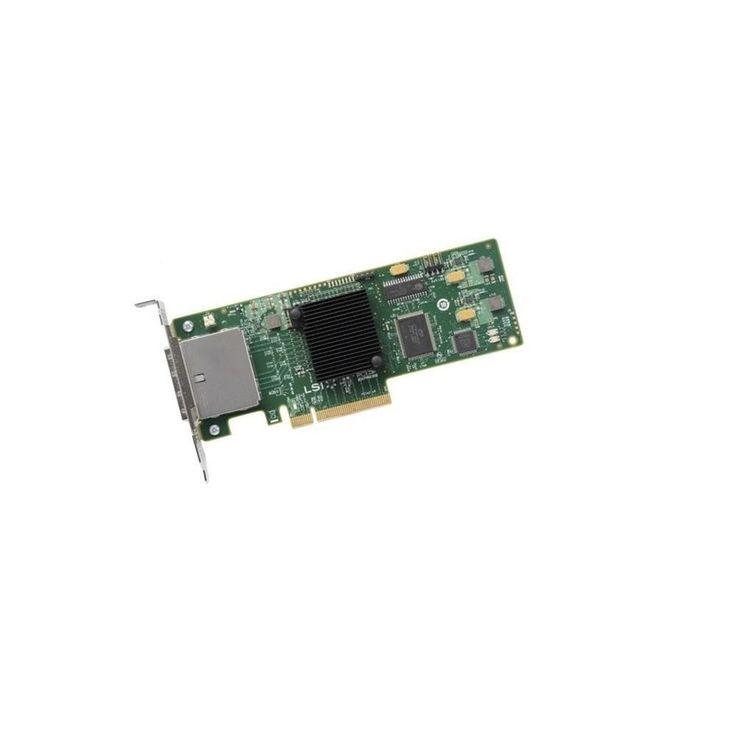 LSI Logic SAS 9207-4i4e LSISAS2308 4-Ports SATA 6GB-s Low Profile Bracket PCI Express 3.0 Controller LSI00303