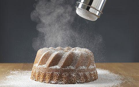 Rumos mokkakuglóf - evőkanál kakaóporral,tálban keverd,villával…