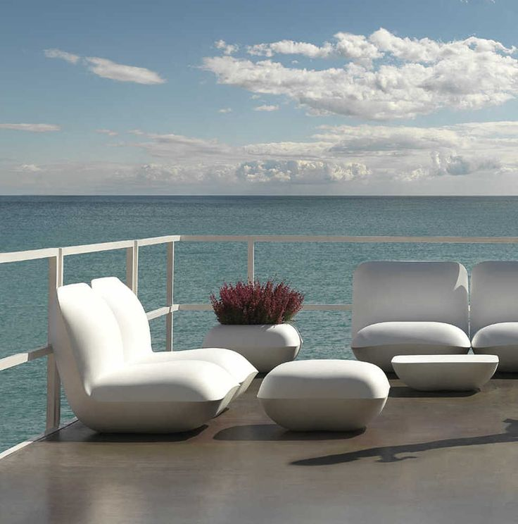 trendy outdoor furniture. Seaside Or Poolside, Vondom Modern Outdoor Furniture Is Attention-getting In Any Setting. Trendy