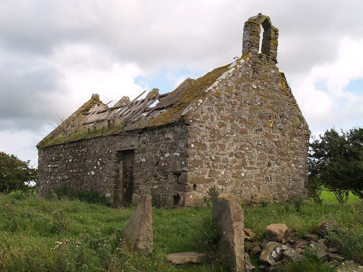 Anglesey, the abandoned church of Gwredog: Abandoned Churches, Gwredog Church, Old Churches