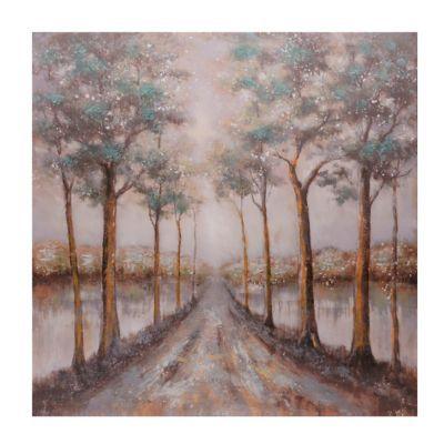 Blue Road Canvas Art Print | Kirklands