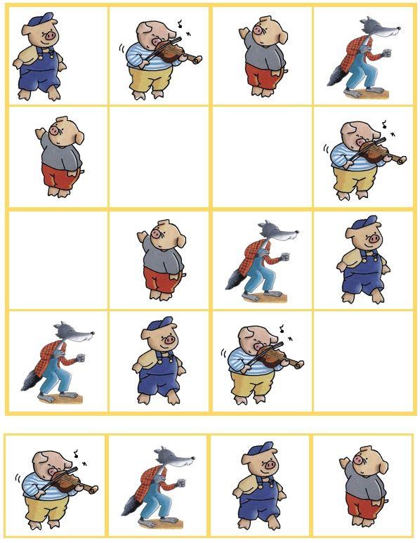 Sudoku De 3 biggetjes (08)