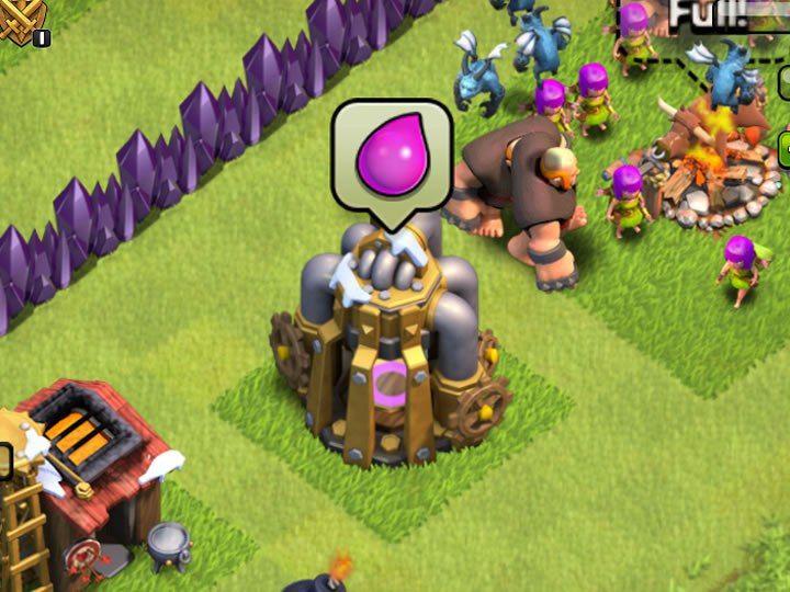 Clash of Clans Elixir Collector