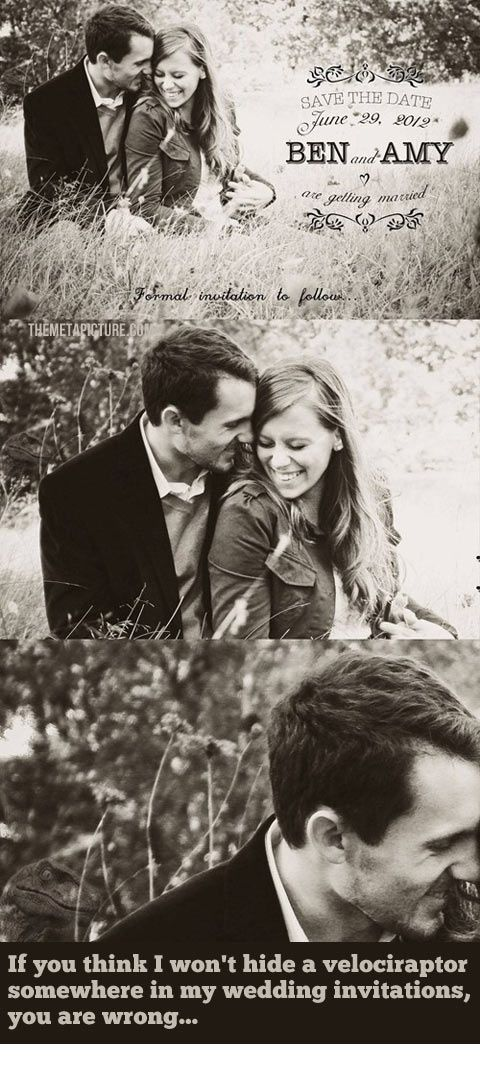 When You See It… Wedding Invitation