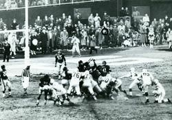 """the history of the nfl and the greatest game ever played There is no game in nfl history more famous or more important than the  it has  long been called """"the greatest game ever played,'' and."""