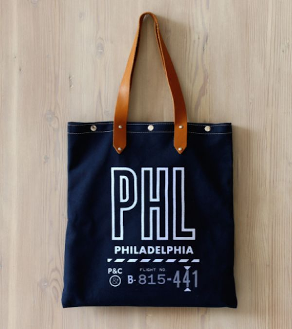 Philadelphia Wedding Gift Bag Ideas : ... Totes For Your Welcome Bags or Bridesmaid Gifts - Philadelphia Wedding