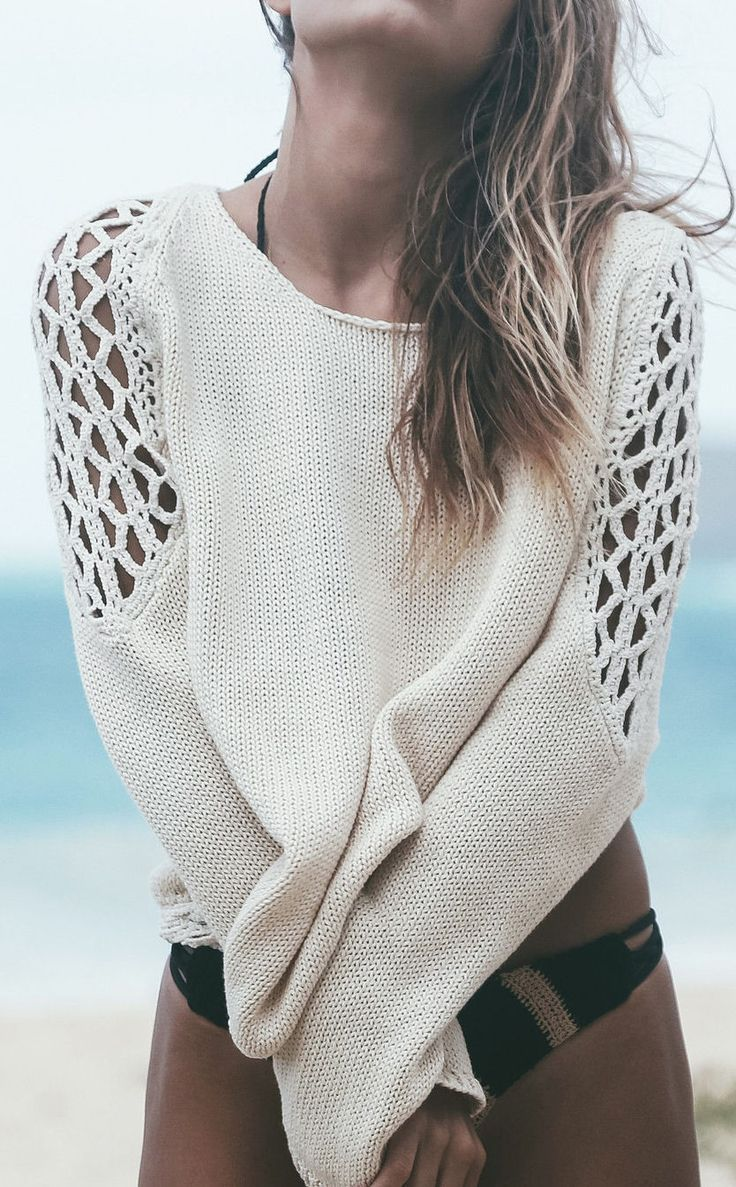 Beach sweater