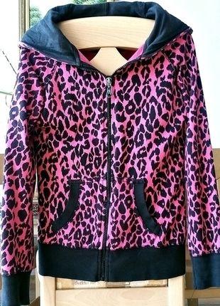 Kup mój przedmiot na #vintedpl http://www.vinted.pl/damska-odziez/bluzy/13081899-rozowa-bluza-panterka-34-wiosna-lato-neon