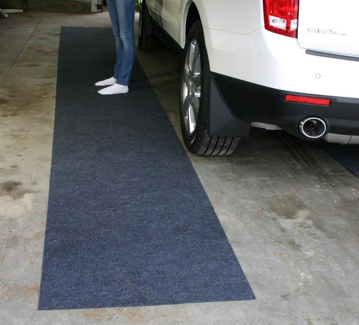 Marvelous Garage Floor Rugs #11: Drymate Garage Floor Runner Is An Affordable Way To Step Out Of Your Car In Style. Safer, Dryer And Warmer, Drymate Mats For Your Garaqe Install In Minutes.