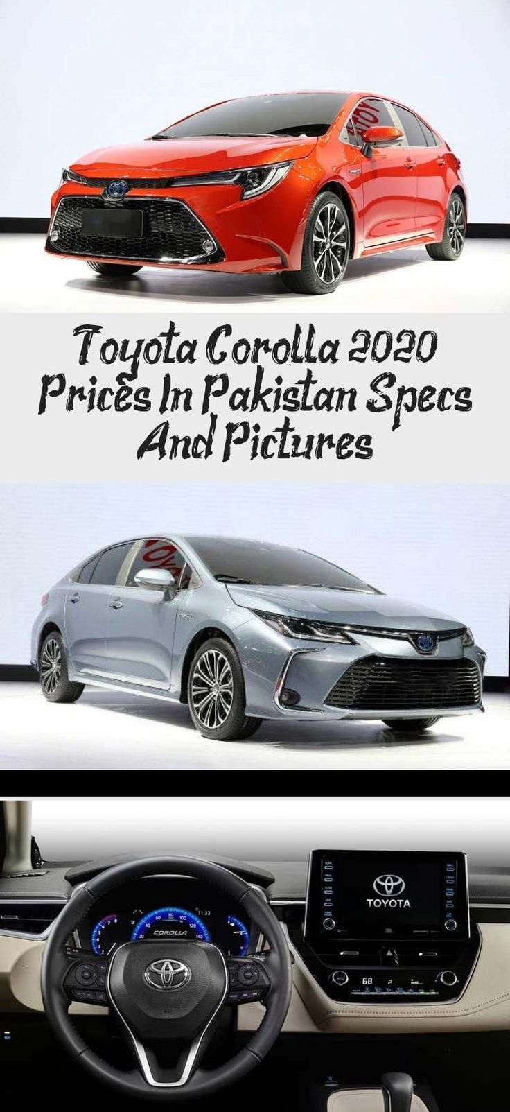 Toyota Corolla 2020 Prices In Pakistan, Specs And Pictures