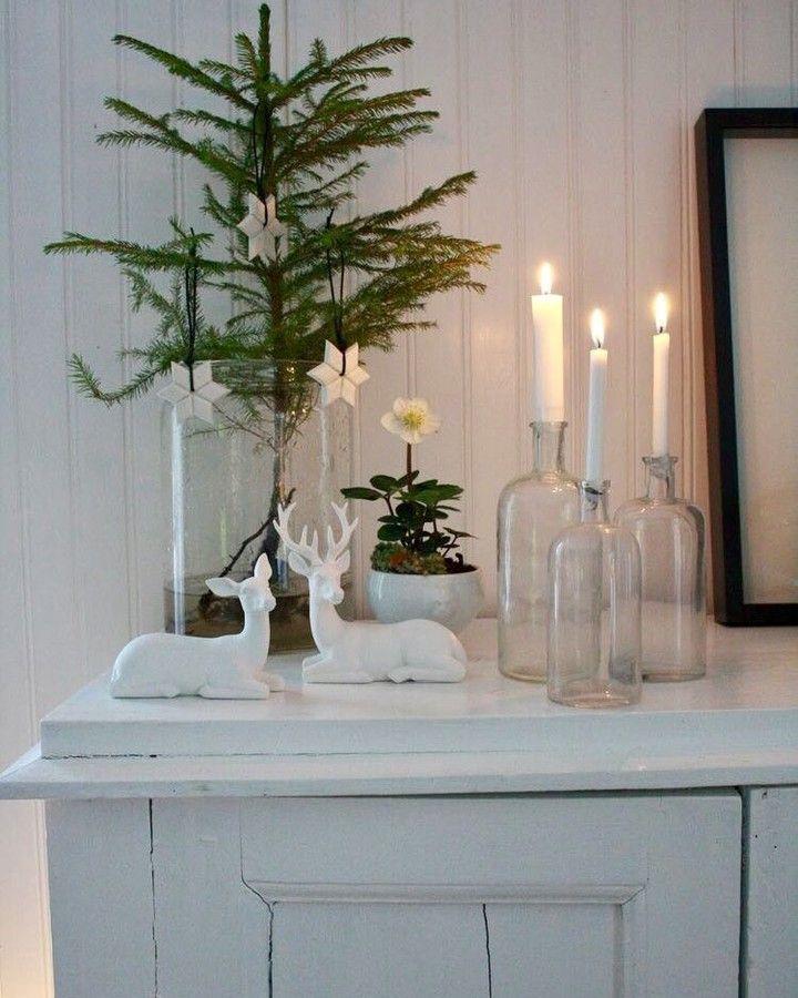 Love,love this simple beauty Christmasdecor idea..#christmasdecoration #homedecor #symplybeauty #christmasdecor