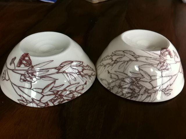 ELAINE BRADLEY: porcelain decal process