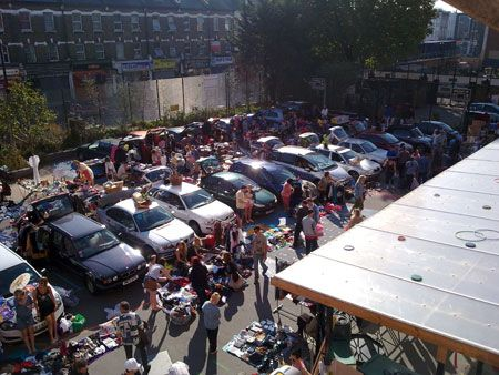 London Car Boot Co, Princess May Primary School, Stoke Newington, N16