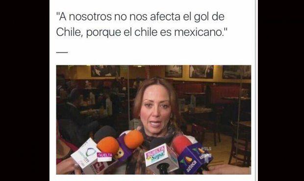 Memes del México vs. Chile
