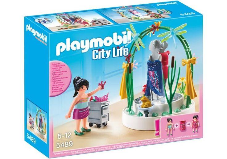 Playmobil 5489 - Dekorateurin mit LED-Podest - Box