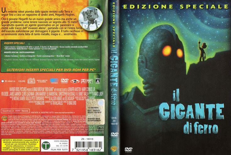 Il gigante di ferro (The Iron Giant - special edit 1999)_Dvd full cover Ita (3161x2124)