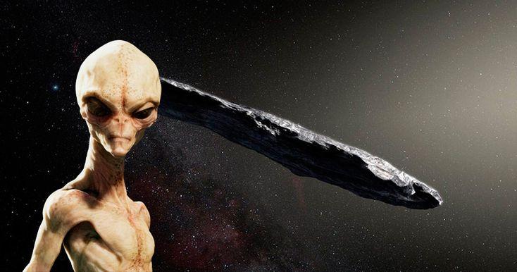 """Специалисты проверят, является ли астероид Оумуамуа """"звездолетом инопланетян""""."""