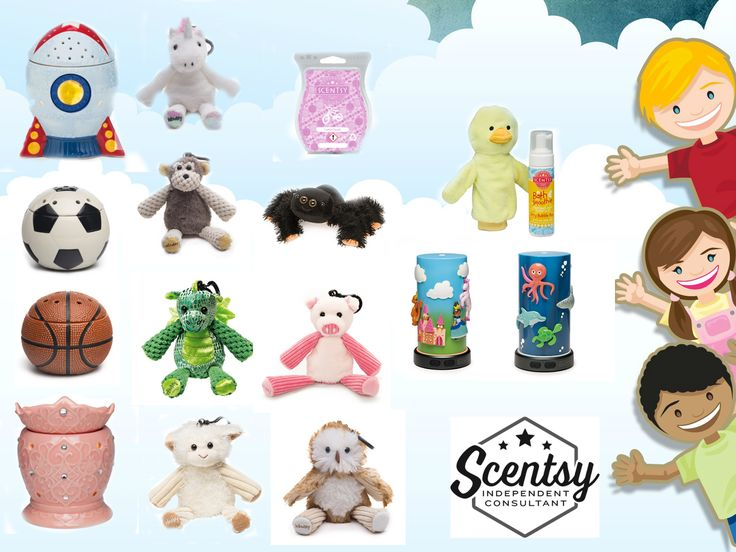 Scentsy UK kids-  Its not just warmers and wax we have lots of children's products too