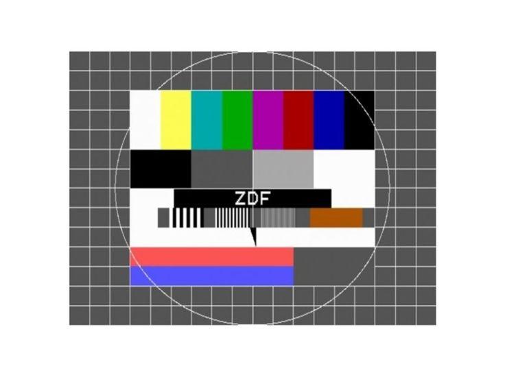 Testbild:  Früher gab es im Fernsehen eine Einrichtung, die sich Sendeschluss...