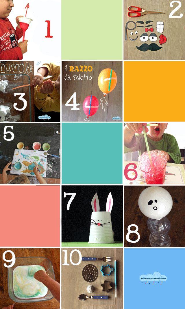 20 summer boredom buster for kids (italian blog)