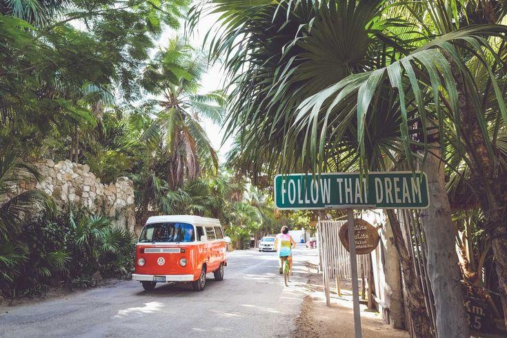 Tulum in Mexico bezoeken? Lees hier onze tips over wat te doen in Tulum, leukste bezienswaardigheden en welke hotels leuk zijn in Tulum, Mexico!